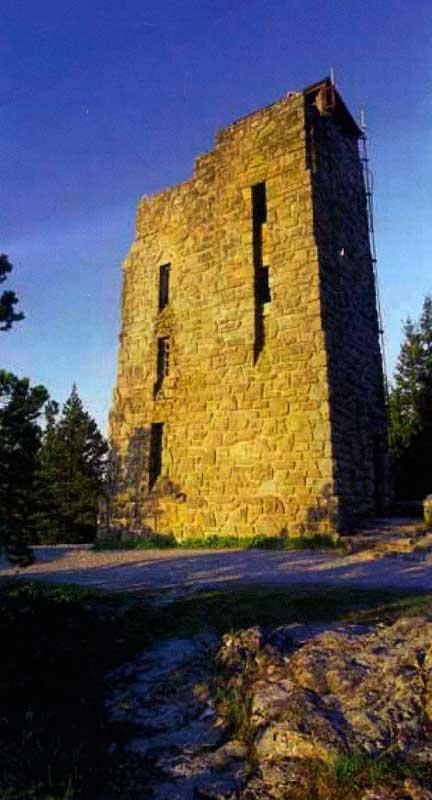 Башня на горе Коститьюшен